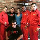 С командой Хулио Чавеса Мл.