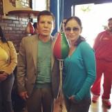 С Хулио Чавесом Ст.