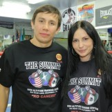 Геннадий Головкин и Анна Драгост