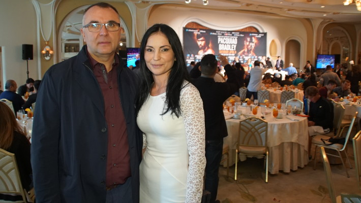 Эгис Климас и Анна Драгост